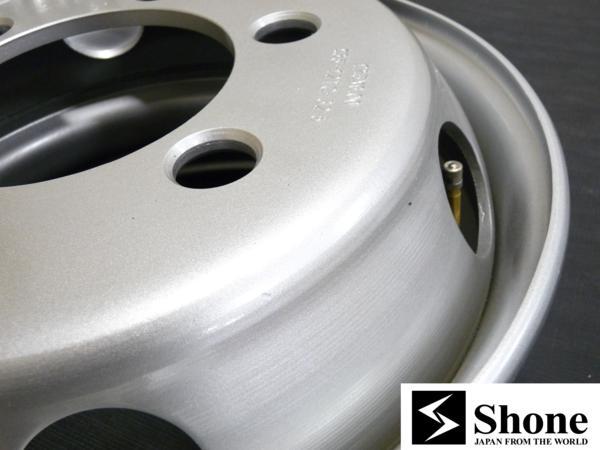 新品SHONEトラック鉄ホイール 6本 17.5×6.00 6H PCD 222.25㎜ +135 ハブ径 164㎜ 穴径32.5㎜ 4t 4トン車 JIS