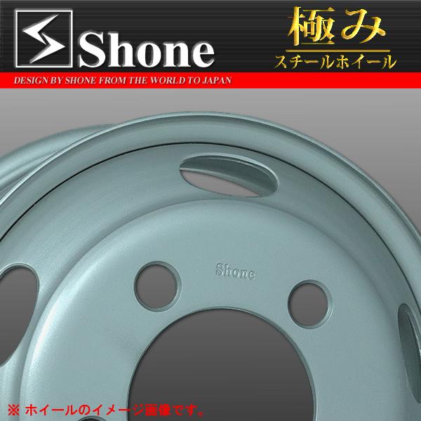 ◆SH302◆エルフ用スチールホイール 16x5.5 オフセット+116.5 5穴 1本価格  SHONE製 NEWモデル 2t車