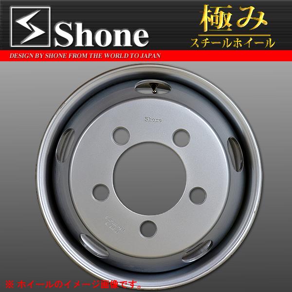 新品SHONEトラック鉄ホイール 1本 17.5×5.25 5H PCD203.2㎜ +115 ハブ径146㎜ 穴径29㎜ 2t車 エルフ