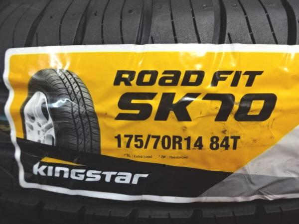 海外製新品 キングスター ROADFIT SK70 175/70R14 88T SUMMER 4本価格 山形発