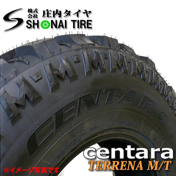 新品マッドタイヤ centara TERRENA M/T 4本 265/70R17