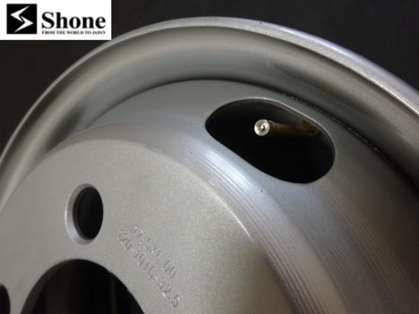 コースターリア用 Shone製スチールホイール 17.5×6.00 オフセット+120 5穴 1本価格 山形発