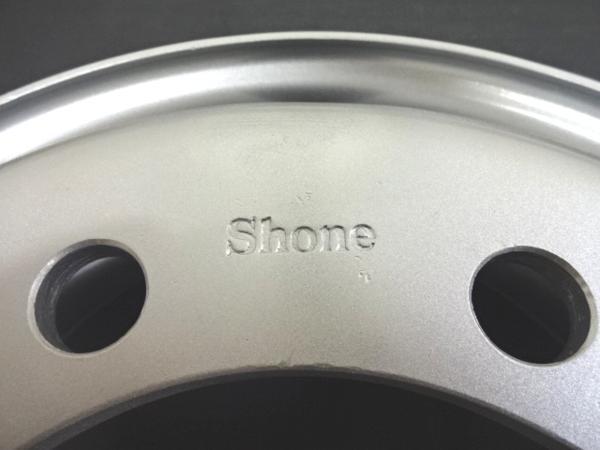 新品SHONEトラック鉄ホイール 2本  22.5×7.50 8H PCD 285㎜ +162 ハブ径 221㎜ 穴径 32.5㎜ 大型10t JIS