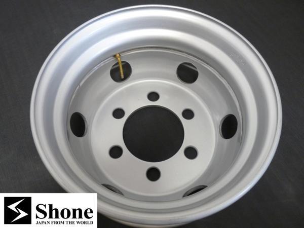 新品SHONEトラック鉄ホイール 1本 17.5×6.00 6H PCD 222.25㎜ +127 ハブ径 164㎜ 穴径32.5㎜ キャンター車 JIS