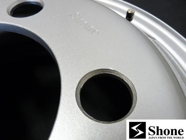 新品SHONEトラック鉄ホイール 2本 16×5.5 5H PCD 208㎜ +115 ハブ径 150㎜ 穴径 32.5㎜ キャンター