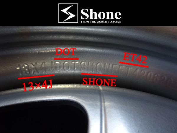 グッドイヤー アイスナビ6 155/65R13 73Q 2016年製 新品スタッドレスタイヤ&新品ホイールセット +42 ブラック ハブ径60mm