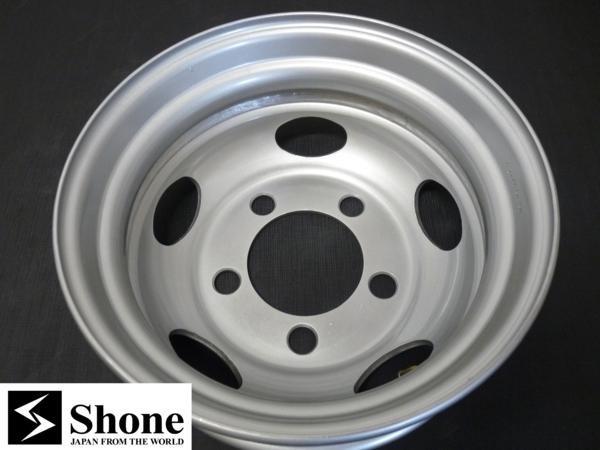 新品SHONEトラック鉄ホイール 2本 17.5×5.25 5H PCD 208㎜ +115 ハブ径 150㎜ 穴径 32.5㎜ キャンター