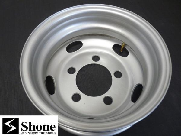 新品SHONEトラック鉄ホイール 1本 16×5.5 5H PCD 208㎜ +115 ハブ径 150㎜ 穴径 32.5㎜ キャンター