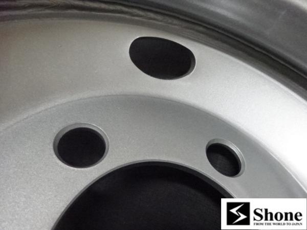 新品SHONEトラック鉄ホイール 4本 16×5.5 5H PCD 203.2㎜ +115 ハブ径 146㎜ 穴径 32.5㎜ ダイナ