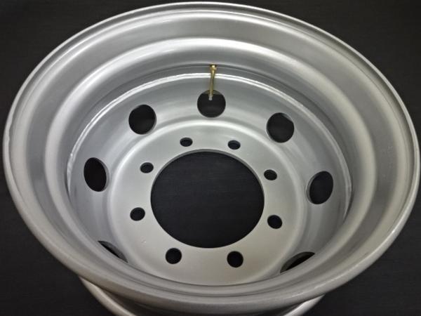大型低床車用 Shone製スチールホイール 19.5×6.75 オフセット+147 8穴 2本価格 新ISO規格 山形発