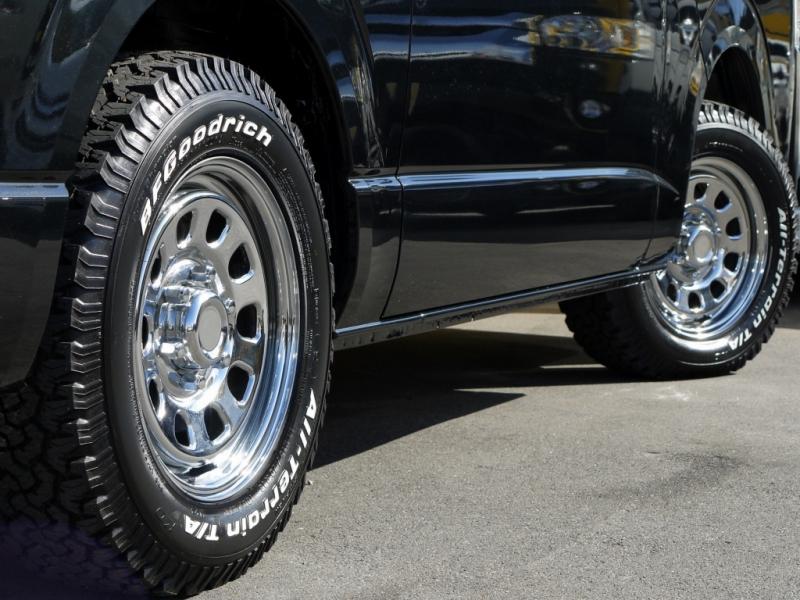 4×4車用 SST デイトナ メッキ スチールホイール 16×8J オフセット±0 6穴 ハブ径110mm 4本価格 山形発