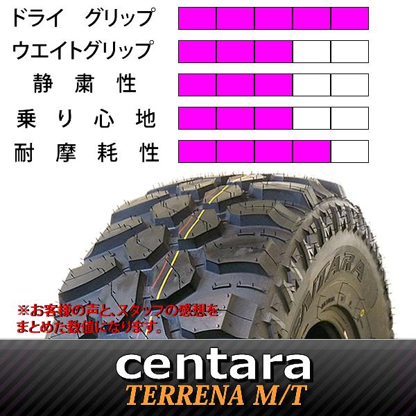 新品マッドタイヤ 235/85R16 LT centara TERRENA M/T 4本価格