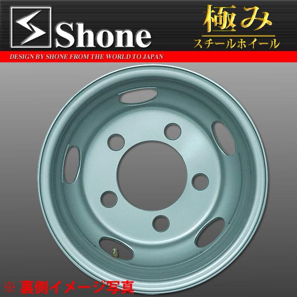 ダイナ デュトロ用スチールホイール 16x5.5 オフセット+115 5穴 1本価格  SHONE製 NEWモデル 2t車