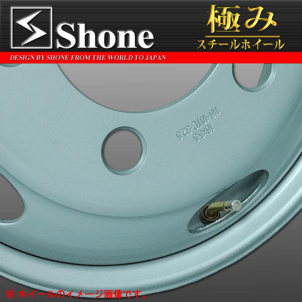 ◆SH301◆ダイナ デュトロ用スチールホイール◆16×5.5 オフセット+115 5穴 1本価格  SHONE製 NEWモデル 2t車