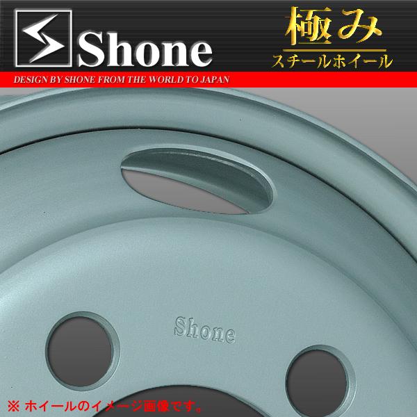 ◆SH300◆キャンター用スチールホイール◆16×5.5J オフセット+115 5穴 1本価格  SHONE製 NEWモデル 2t車