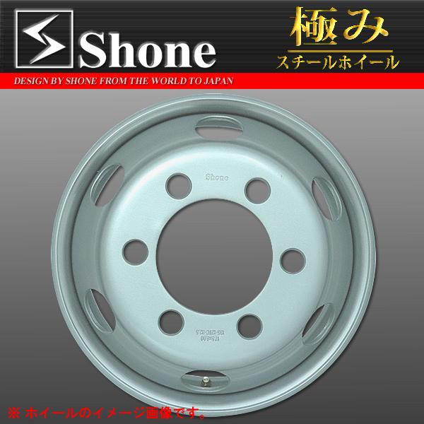 ◆SH306◆キャンター用スチールホイール◆17.5×6.00 オフセット+127 6穴 1本価格 JIS規格 SHONE製 NEWモデル